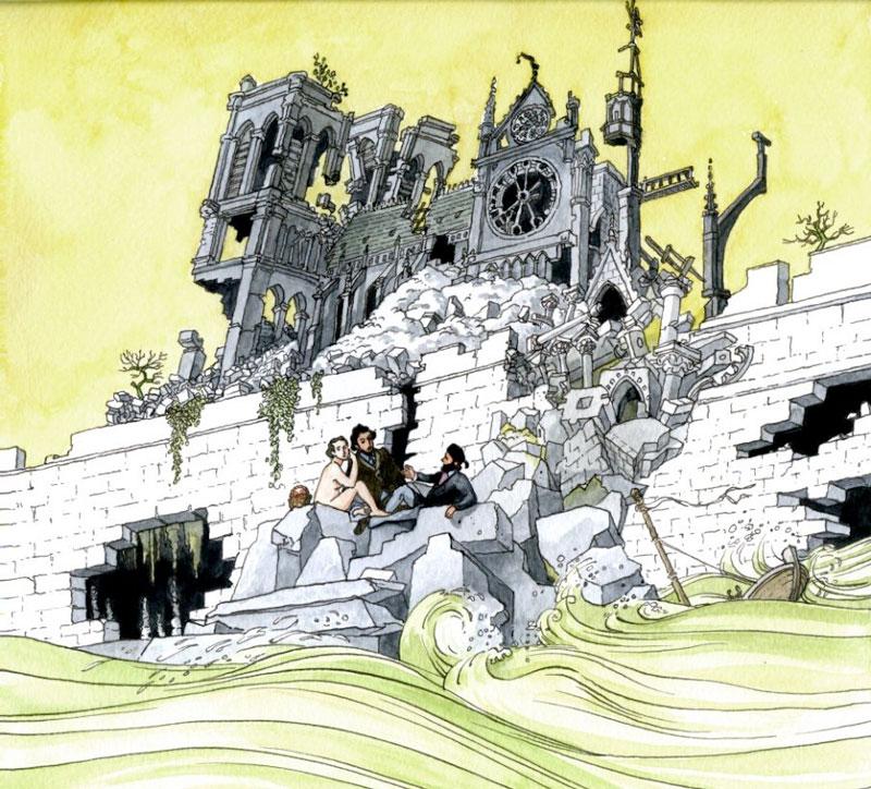 Chant de Ruines - Cathédrale Notre-Dame de Paris