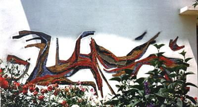 Mosaïque murale - 09 Lavelanet