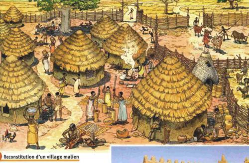 Village-Malien