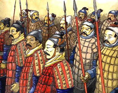 Soldats chinois de Qin Shihuangdi