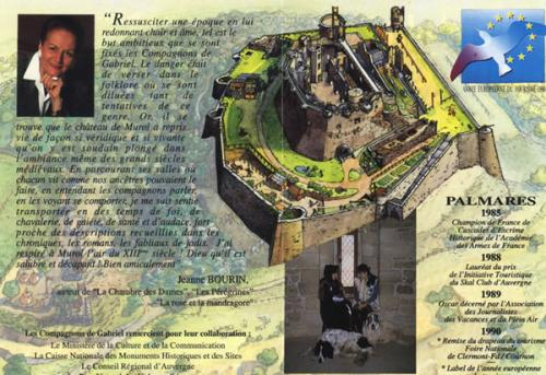 Chateau de Murol. Auvergne