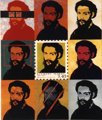 Portraits de Clément Marot