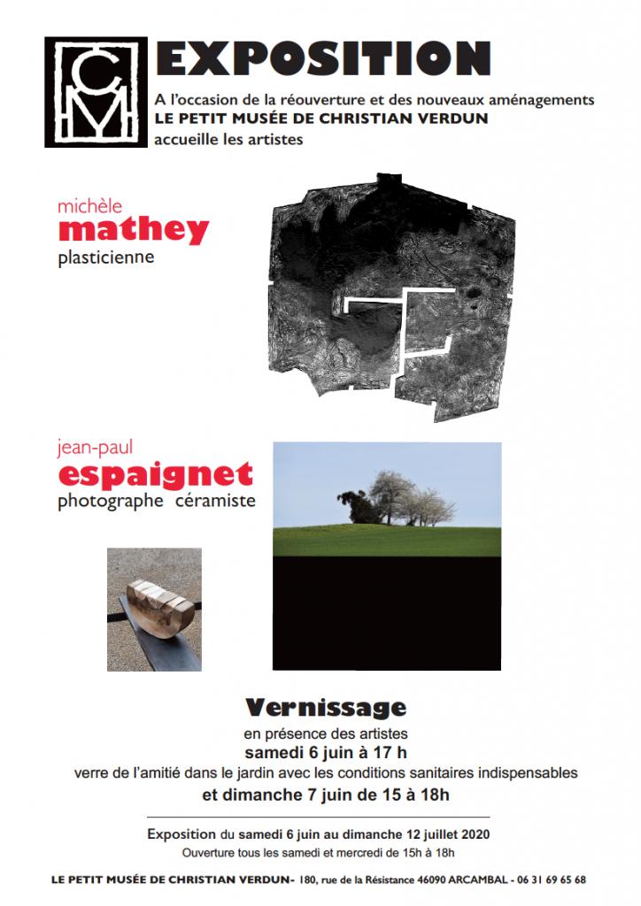 Exposition Mathey / Espaignet Juin 2020