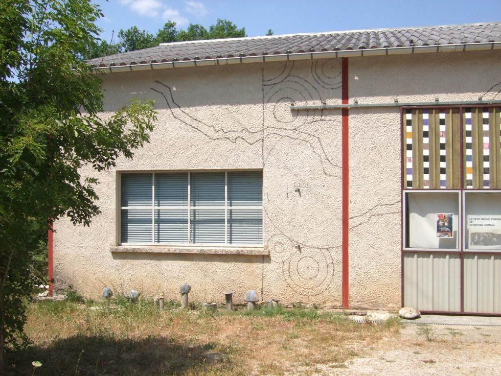 Repères de la mosaïque murale