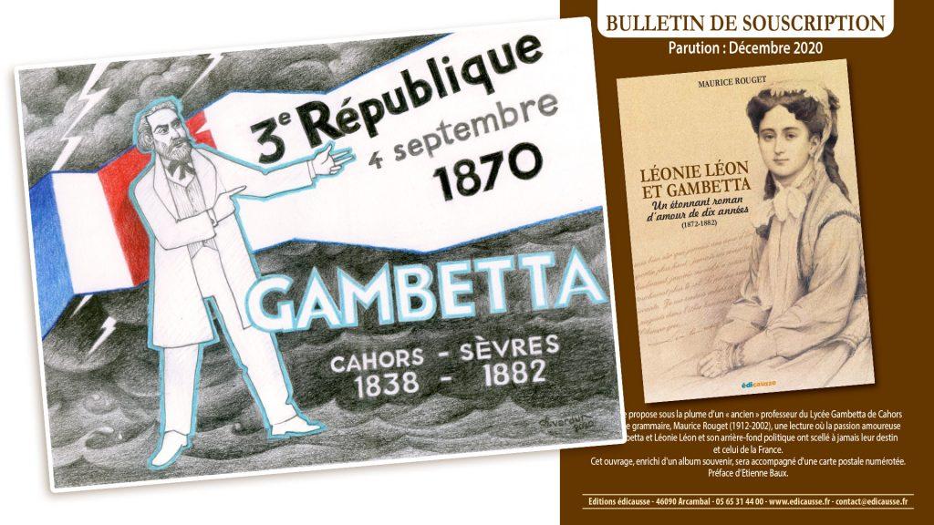 Carte postale Leonie Gambetta