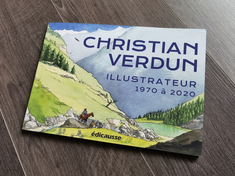CHRISTIAN VERDUN Illustrateur de 1970 à 2020