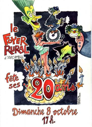 20 ans Foyer Rural
