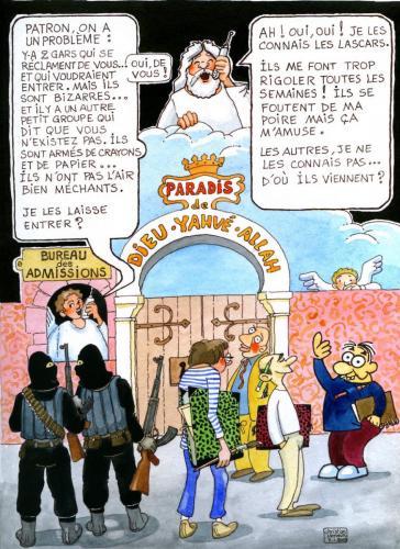 Massacre à Charlie Hebdo