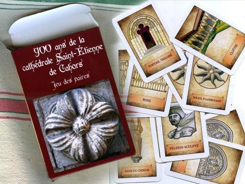 Jeu de cartes - 900 ans de la Cathédrale de Cahors