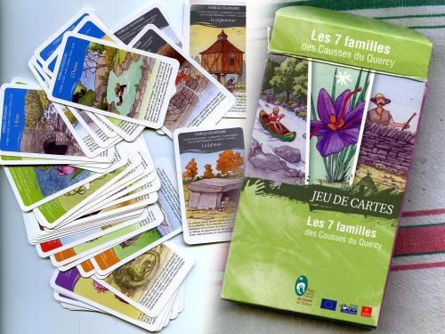Jeux des 7 familles - Causses du Quercy